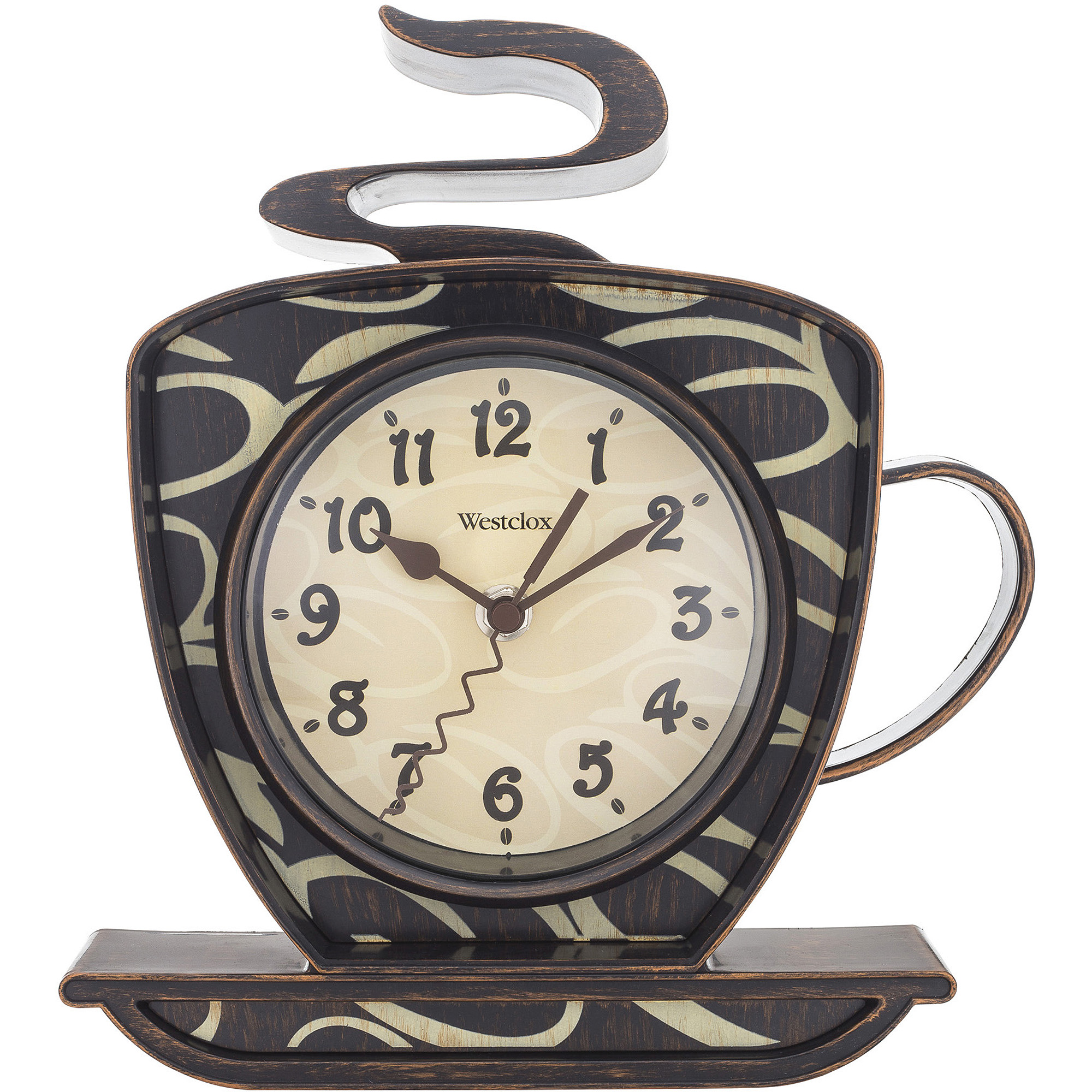 westclox coffee mug wall clock - walmart