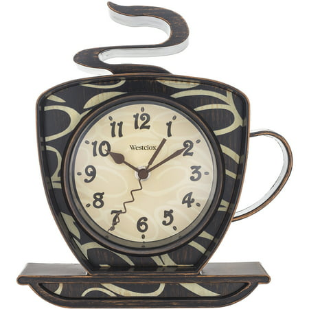 Westclox Coffee Mug Wall Clock ()