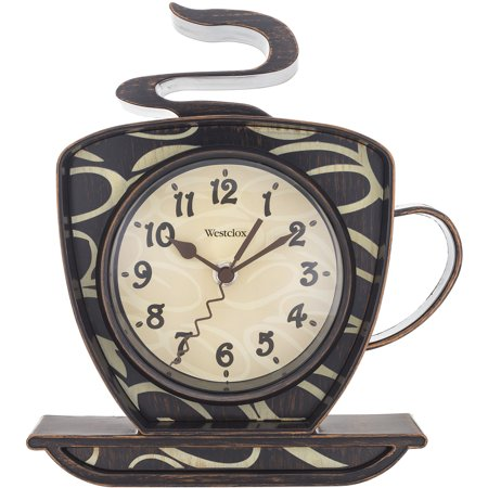 - Westclox Coffee Mug Wall Clock