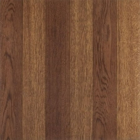 Achim Nexus Medium Oak Plank Look 12x12 Self Adhesive Vinyl Floor Tile 20 Tiles20 Sq Ft