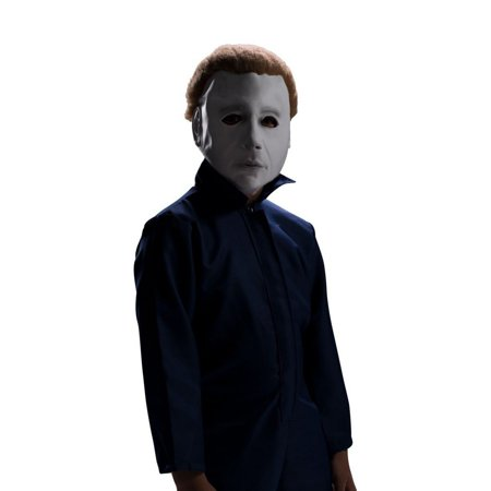 Halloween Michael Myers Mask with Wig](Scary Halloween Music Michael Myers)