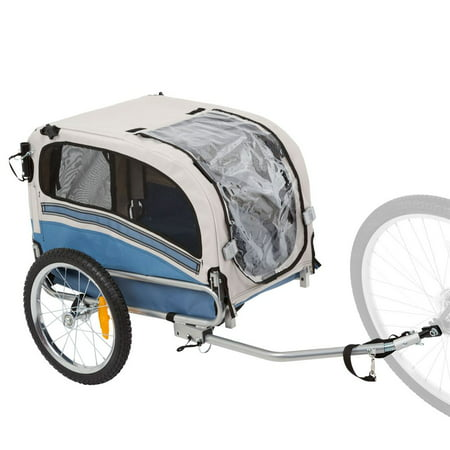 2-in-1 Small Dog Bicycle Trailer and Jogging (1 Jogging Kit)