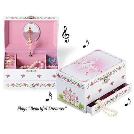 Ballerina wind up musical jewelry box plays beautiful for Amazon ballerina musical jewelry box