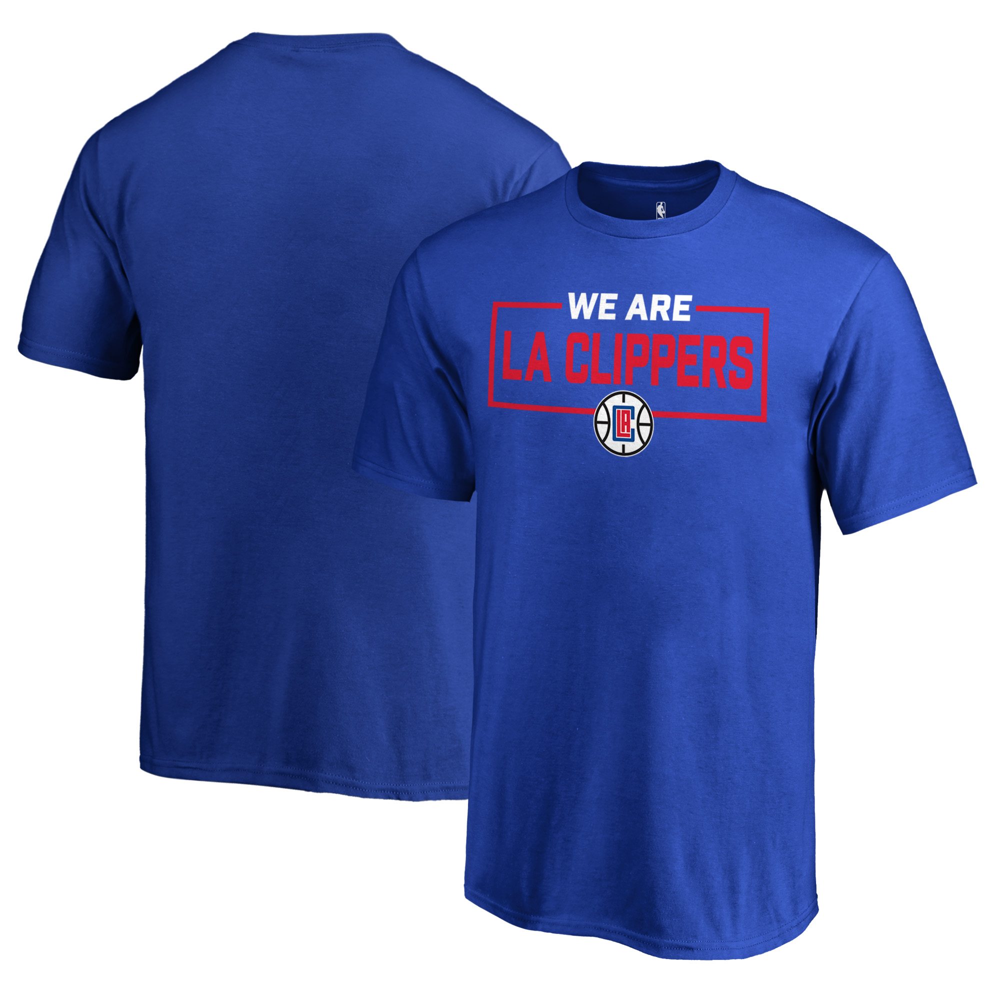 LA Clippers Fanatics Branded Youth We Are Iconic Collection T-Shirt - Royal