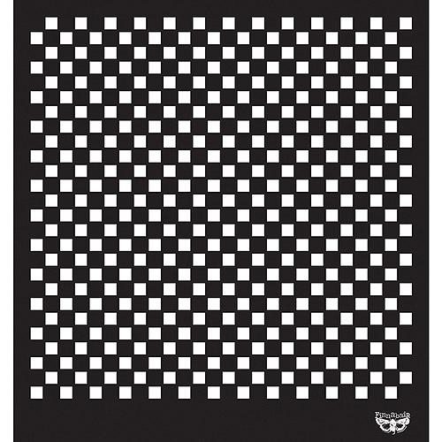 Prima Marketing Sunrise Sunset Designer Stencil, 12 by 12-Inch, Checker Multi-Colored