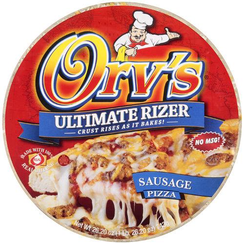 Orv's Ultimate Rizer Sausage Pizza, 26.2 oz