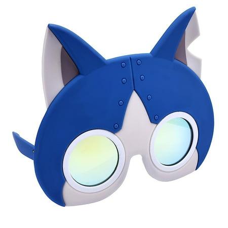 Party Costumes - Sun-Staches - Yo-Kai Watch - Robot Cat Costume Mask sg2668 - image 2 de 2