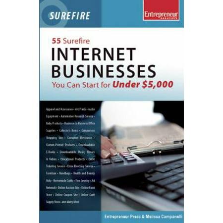 55 Surefire Internet Businesses You Can Start For Under  5 000
