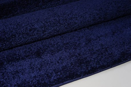 Ladole Rugs Soft Plush Solid Area Rug Navy Blue 8x11 7 10