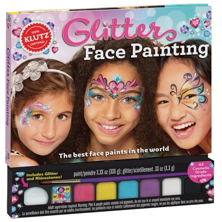 Glitter Face Painting for $<!---->