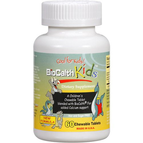 BioCalth Kids Chewable Dietary Supplement Tablets, 60ct
