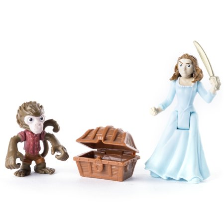Pirates of the Caribbean: Dead Men Tell No Tales - Jack the Monkey & Carina - Action Figure 2-Pack