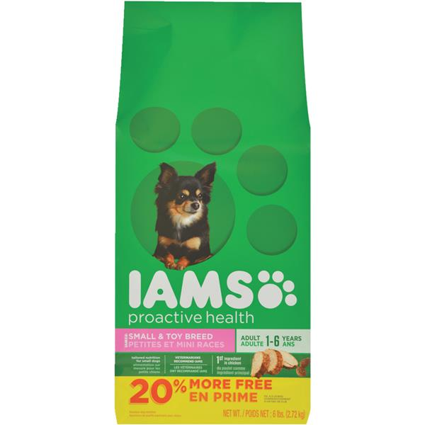 Iams Proactive Health Small And Toy Breed Adult Dry Dog Food, 6 Lb