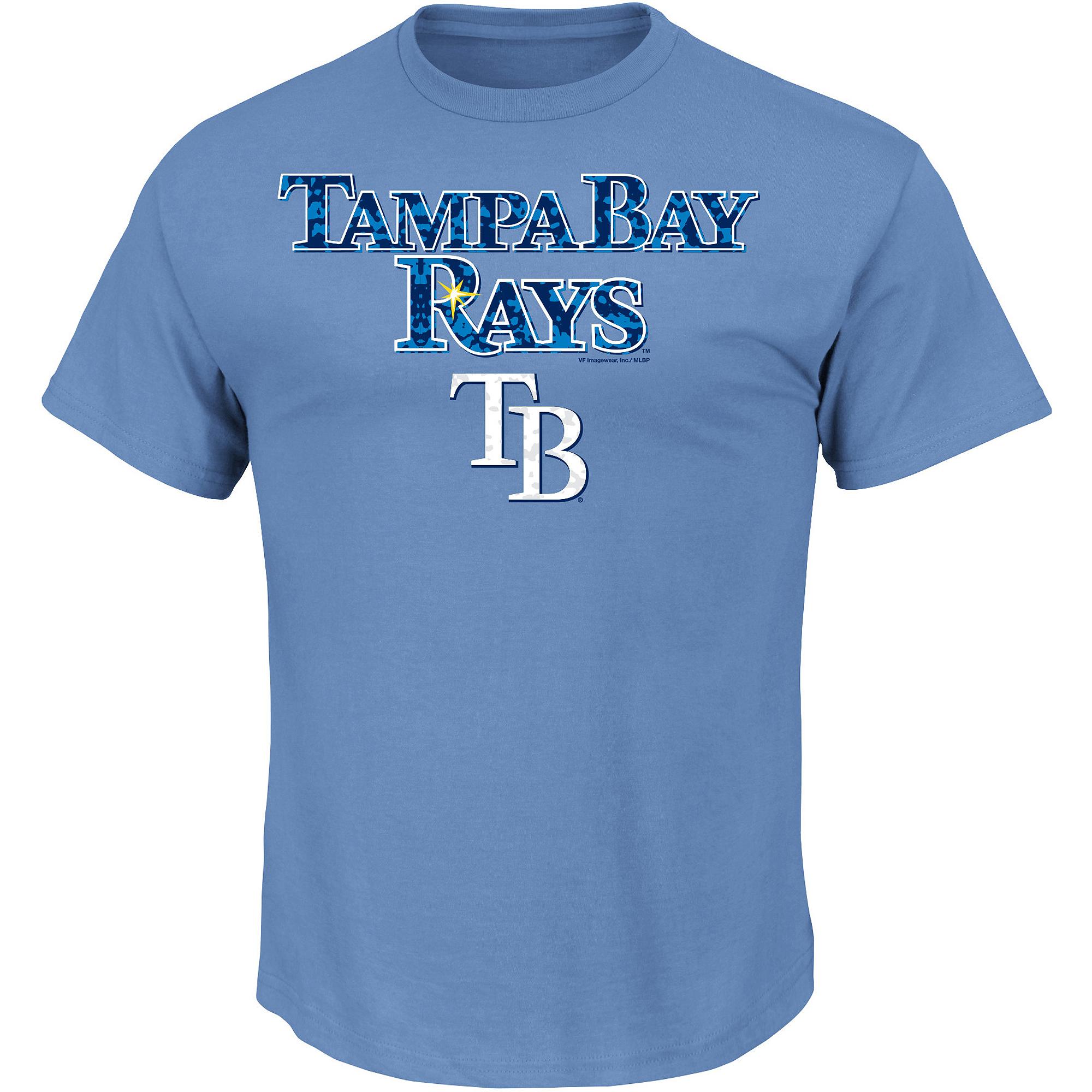 Men's MLB Tampa Bay Rays Team Tee
