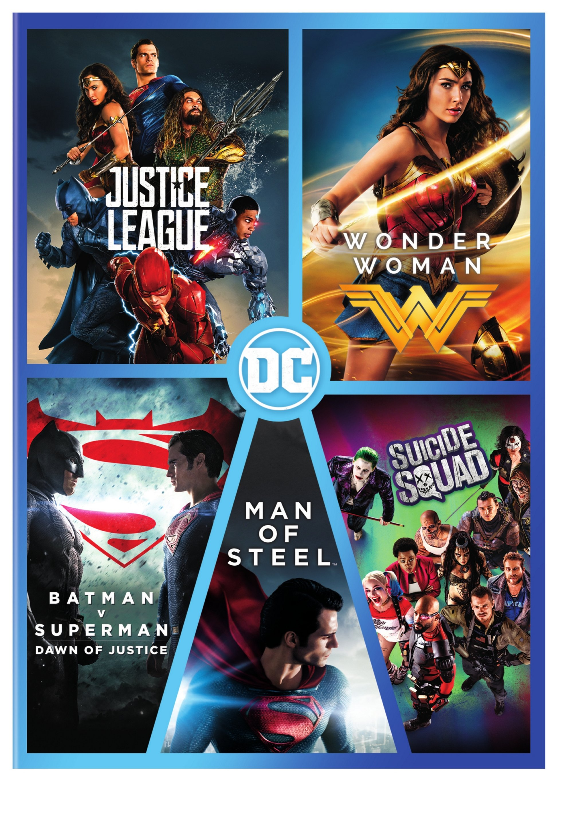 DC 5-Film Collection (DVD)