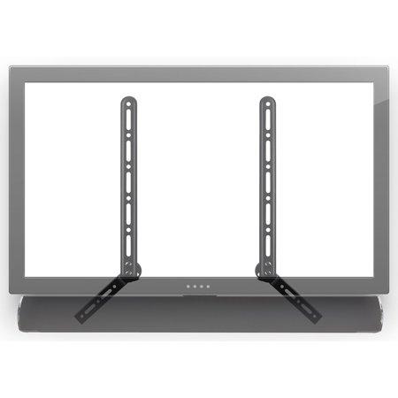 Steel Above Mount - Mount-It! Soundbar Bracket Universal Sound Bar TV Mount For Mounting Above or Under TV (MI-SB41)
