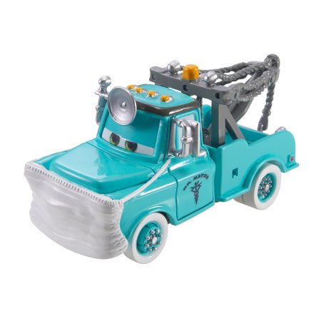 Disney/Pixar Cars Rescue Squad Mater Dr. Mater With Mask Up Die-Cast Vehicle