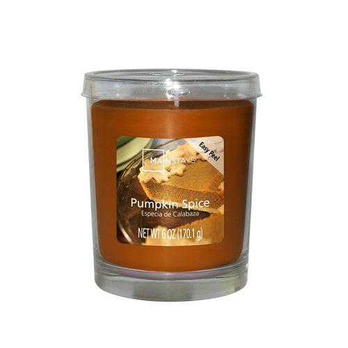 Mainstays 6 oz Jar Candle, Pumpkin Spice