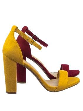 9ad9bd32095e Yellow Womens Sandals   Flip-flops - Walmart.com