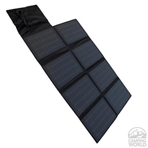 Nature Power 80-Watt Folding Monocrystalline Solar Panel Charger