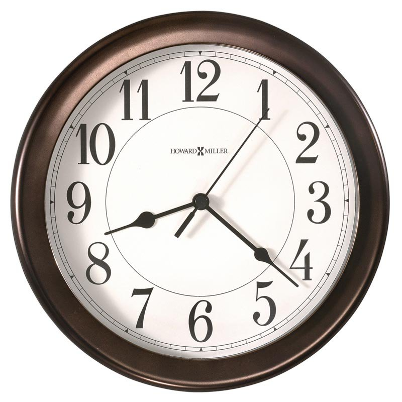 Howard Miller Virgo 8.5 in. Wall Clock