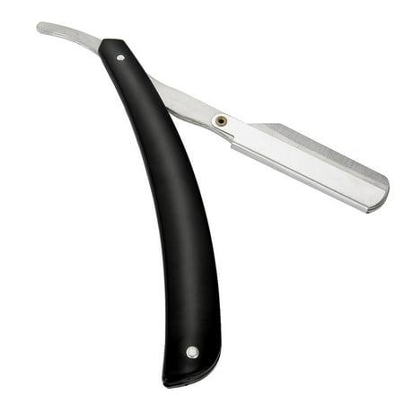 Yosoo Barber Straight Blade Razor Stainless Steel Salon Folding Shaving Hair Cutting Clipper, Barber Blade Razor,Barber Razor - image 6 of 8