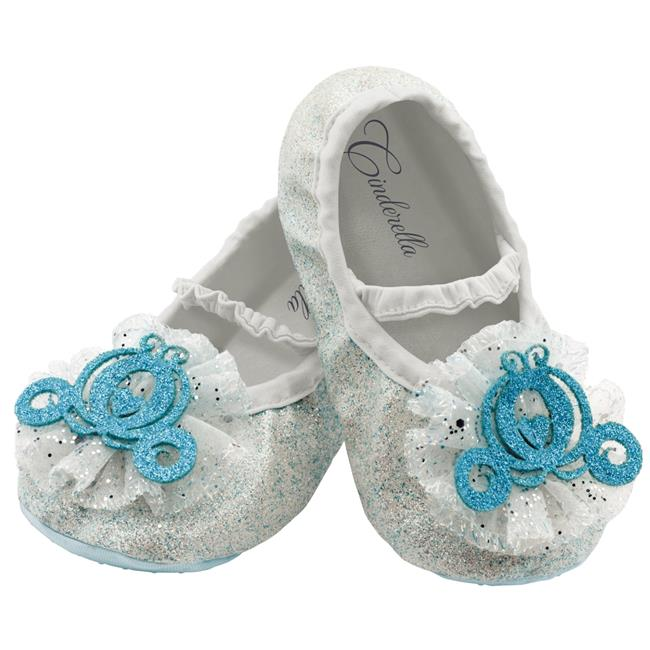 Morris Costumes DG83868 Cinderella Toddler Slippers Costume