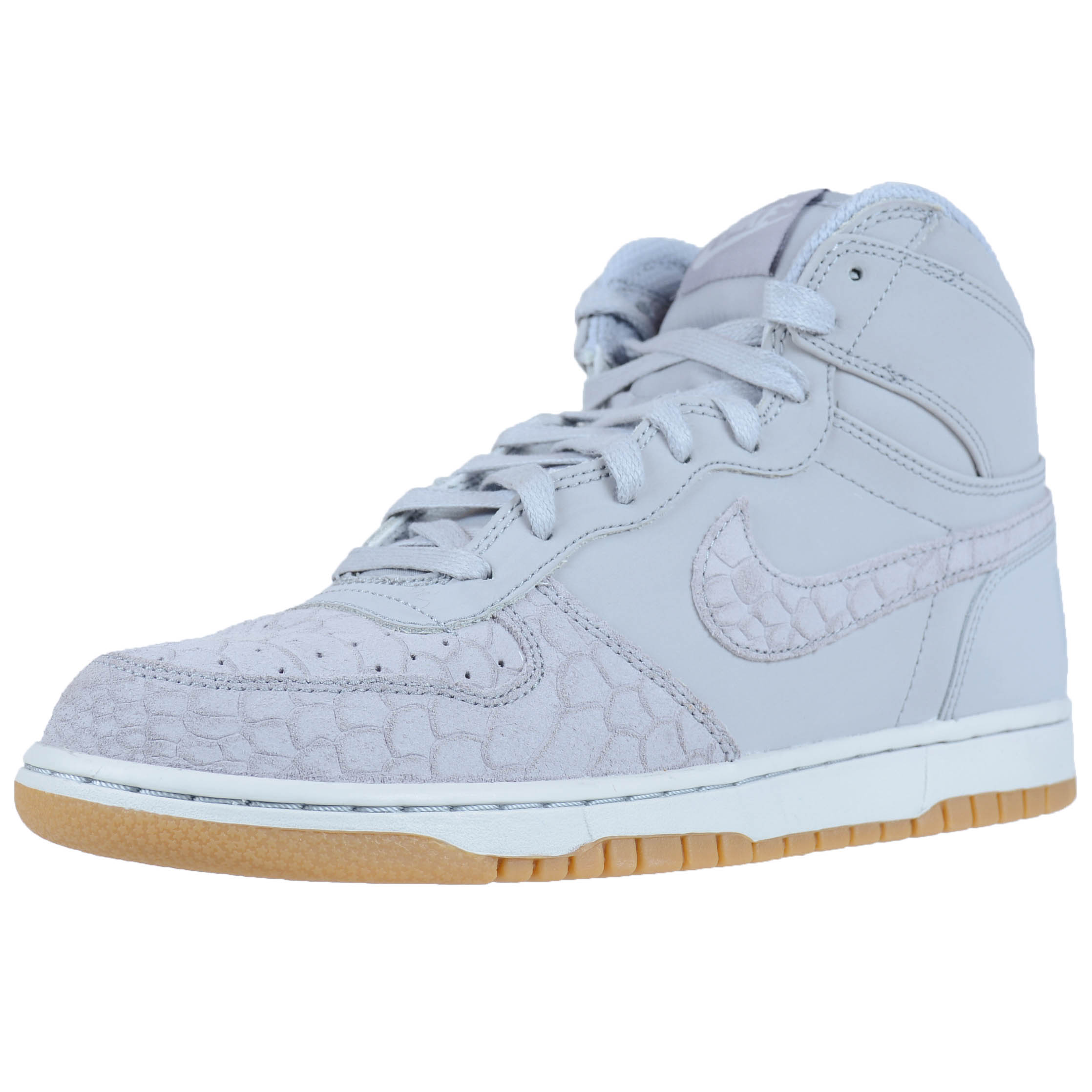 NIKE BIG NIKE HIGH LUX WOLF GREY PURE PLATINUM MENS CASUAL FASHION 854165 002 by