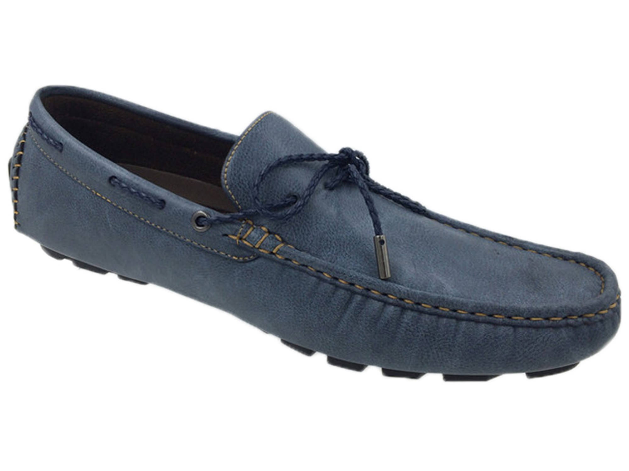 Mecca Tony Men's Lace Slip-On Loafers Shoes by Unity Brands Inc.