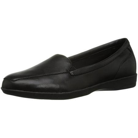Easy Spirit Womens Devitt Leather Closed Toe Oxfords