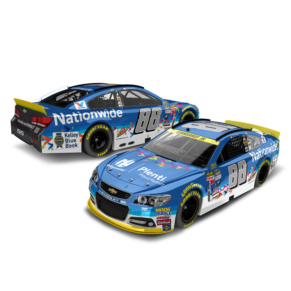 Action Racing Dale Earnhardt Jr. #88 Nationwide Plenti 1:24 2015 Nascar Sprint Cup Series... by Lionel LLC
