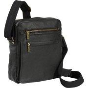 AmeriLeather Front Flap Messenger Bag