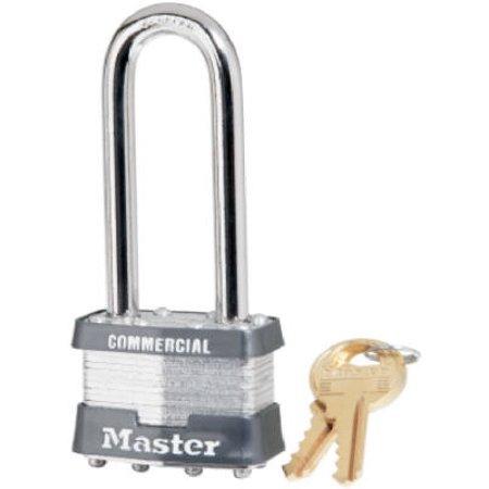 Master Lock 1KALJ-2730 1-3/4 Inch Laminated Padlock 2-1/2 Inch Long Shackle