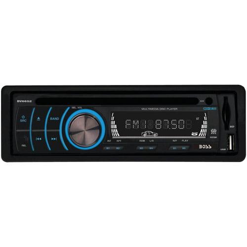 Boss Audio BV6652 Single-DIN In-Dash DVD Receiver