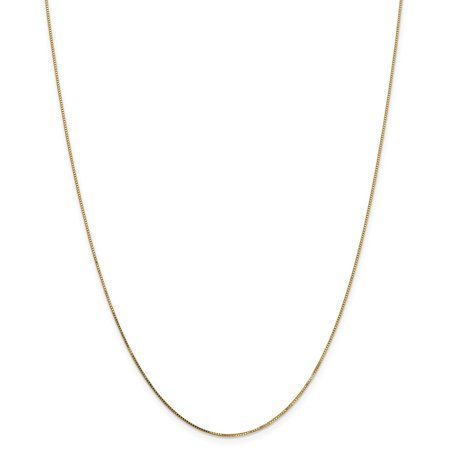 Roy Rose Jewelry Leslies 14K Yellow Gold Light Box Chain Necklace ~ Length 20'' inches