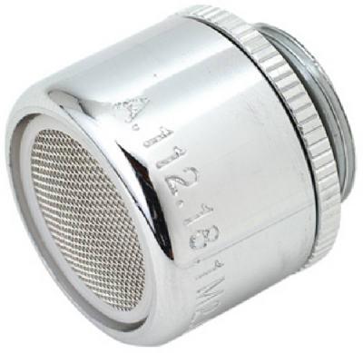 Faucet Aerator, Male, Chrome Finish, 11/16-In. x 27-Thread