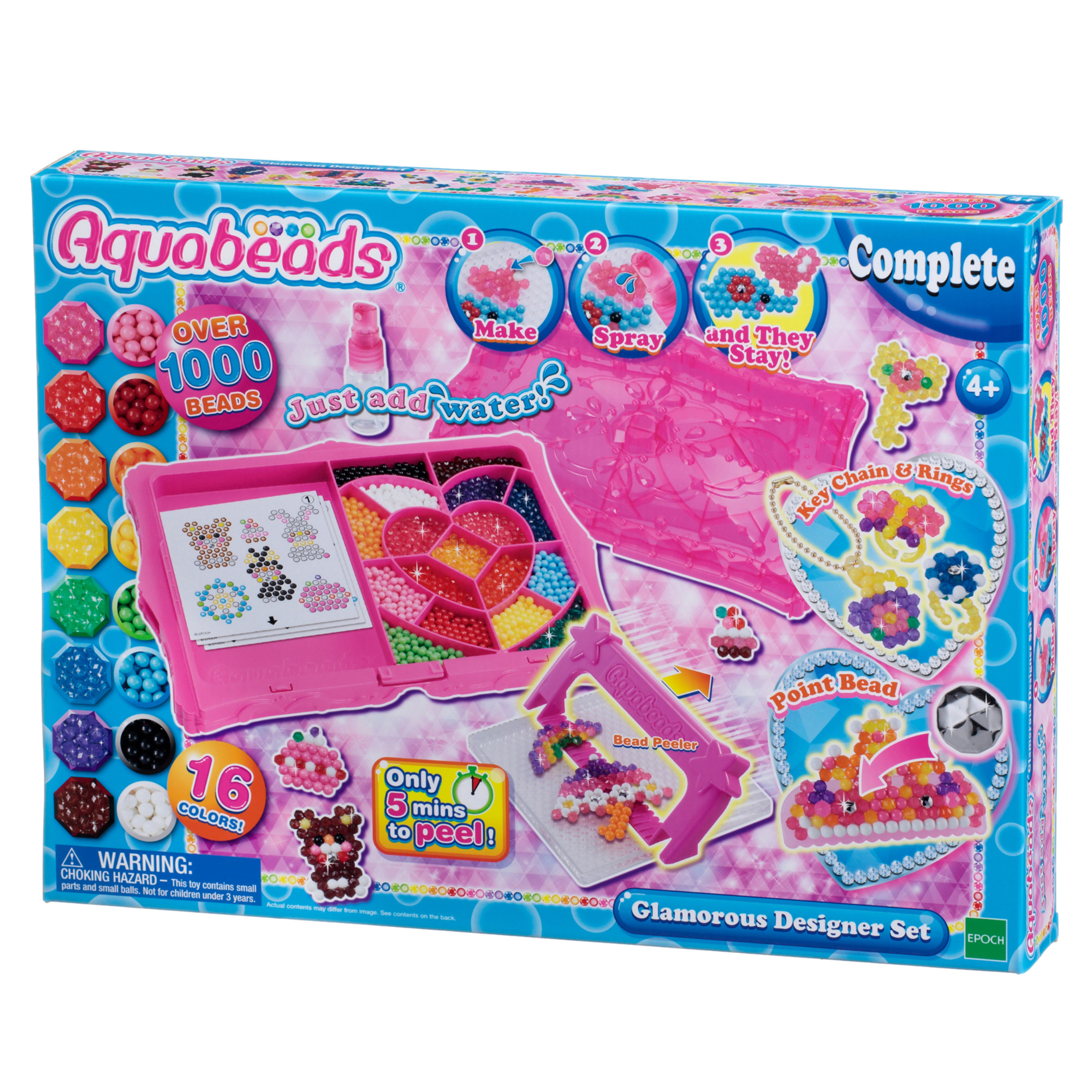Aquabeads Glamourous Designer Bead Set: Create Endless Jewelry!