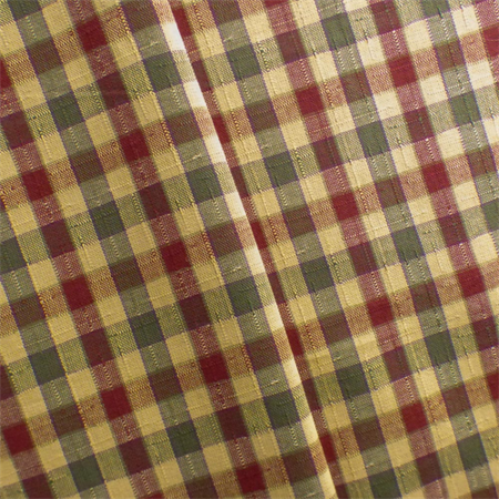 Multi Linen/Cotton Plaid Home Decorating Fabric, Fabric By the (Plaid Fabric By The Yard)