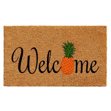 Calloway Mills Pineapple Fun Outdoor Doormat 24