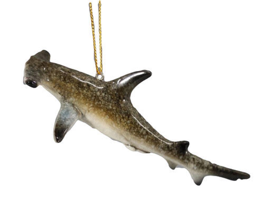 OnHoliday Hammer Head Shark Fish Christmas Tree Ornament