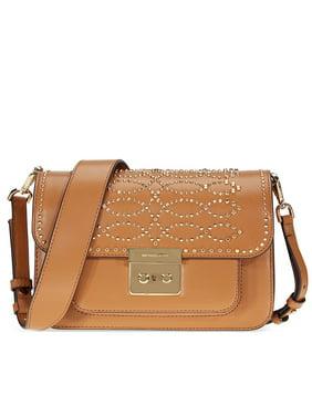 e63f2243b93db4 Product Image Michael Kors Sloan Studded Leather Shoulder Bag - Acorn