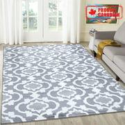A2Z Trendy 7926 Contemporary Elegant Living Room Grey Area Rug Carpet Tapis (3x5 4x6 5x7 5x8 7x9 8x10)