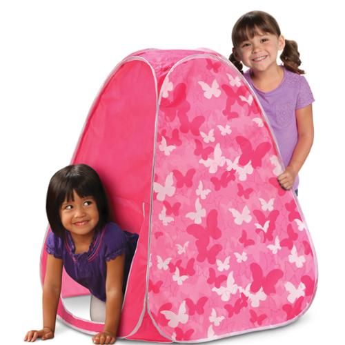 Discovery Kids Butterfly Dreams Pop-Up Play Tent  sc 1 st  Walmart & Discovery Kids Butterfly Dreams Pop-Up Play Tent - Walmart.com