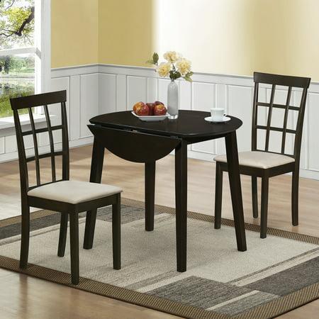 Home Source Helena Dining Set Drop Leaf Table - Walmart.com