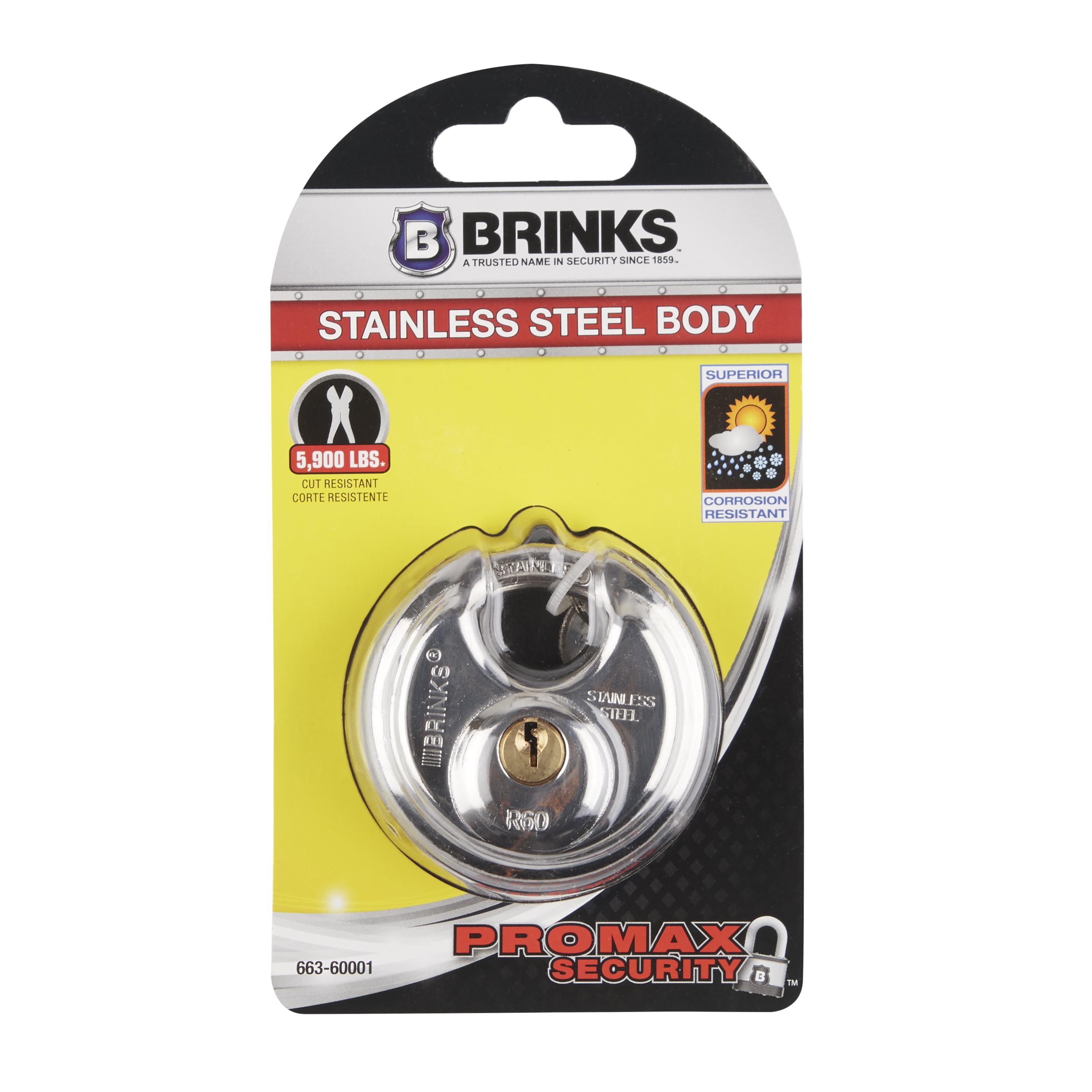 Brink's 60mm Discus Padlock