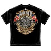 Cotton Army Gold Shield Badge Of Honor T-Shirt