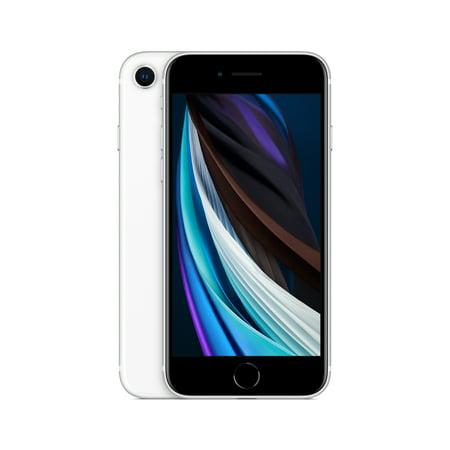 Cricket Wireless Apple iPhone SE20, 64 GB, White - Prepaid Smartphone