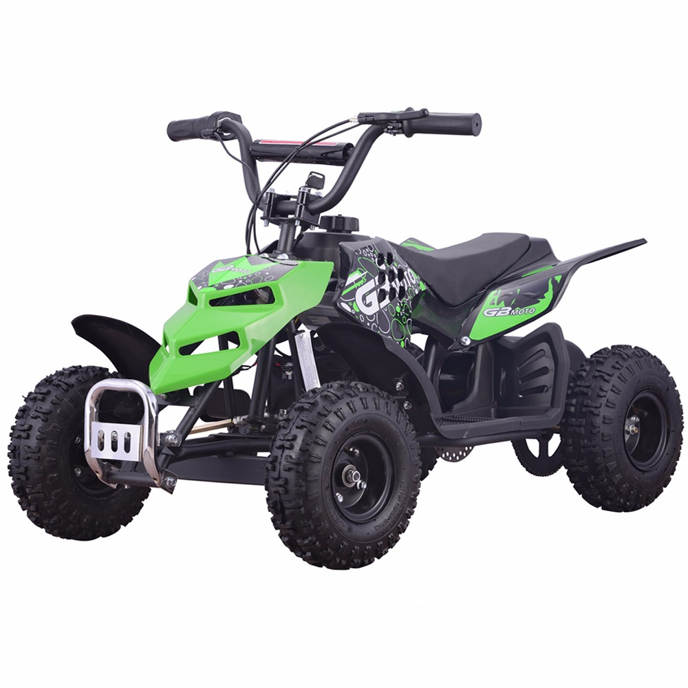 Monster Insect 24V 250W Electric Quad Battery-Powered MINI ATV Kid Ride-on Green by
