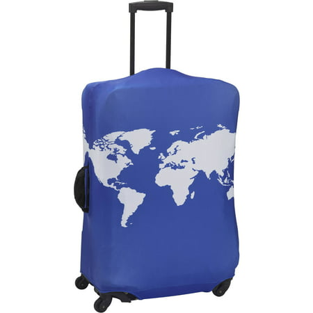 American Tourister Luggage Cover Print, Cobalt Blue