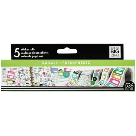 MAMBI Create 365 HP Sticker Roll Budget](Custom Roll Stickers)
